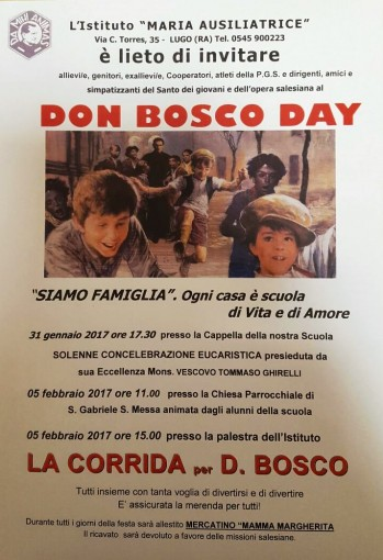 locandina don bosco day 2017